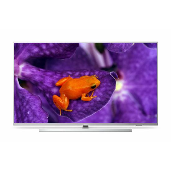 Philips MediaSuite Professzionális UHD TV Beépített Chromecast 65HFL6114U/12, fémhatású kivitel
