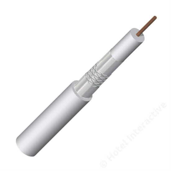 KOKA 110 A+ 500 m Cu white, drum (price per meter)