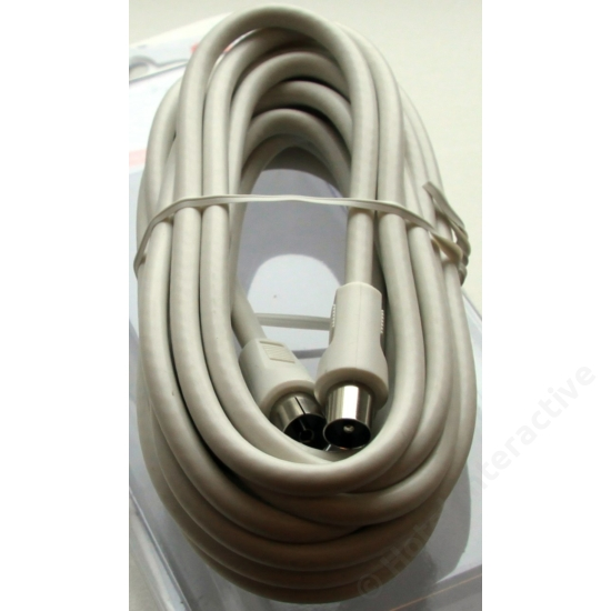 RF cable 5,0 m IEC