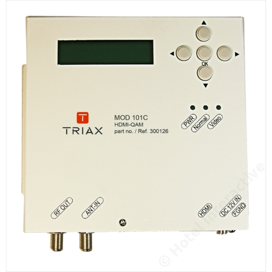 MOD 101C HDMI-QAM modulator
