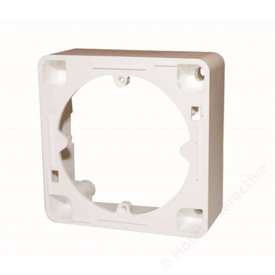 AR 20; frame, pure white / Keret fali aljzathoz, fehér