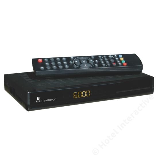S-HD 207CX, DVB-S2, Conax
