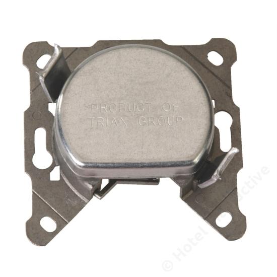 FS 07; loop through filter socket / szűrős felfűzhető csatlakozó aljzat, 4-1000 MHz, 7 dB