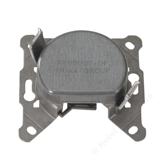 FS 12; loop through filter socket / szűrős felfűzhető csatlakozó aljzat, 4-1000 MHz, 12 dB