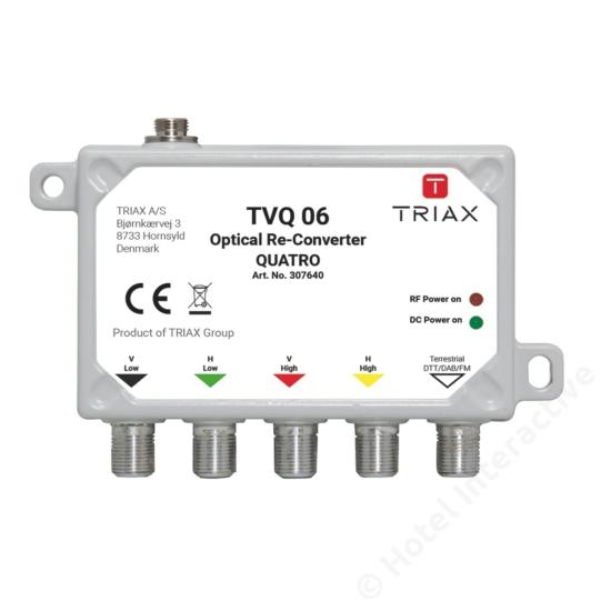 TVQ 06 Triax Virtual QUATTRO legacy converter + Terr