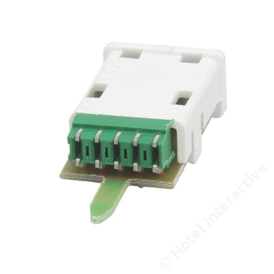 TSTI 01 Splitter for two RF outputs (2 x 3,7dB)