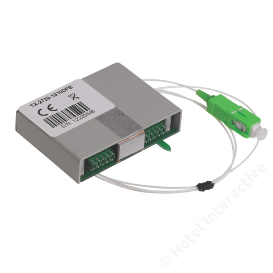TTX 2729/1310 DFB Return Transmitter, DFB laser, 1310nm