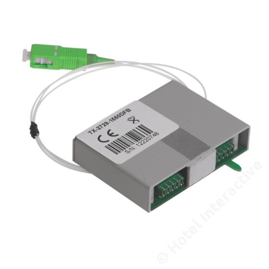 TTX 2729/1550 DFB Return Transmitter, DFB laser, 1550nm