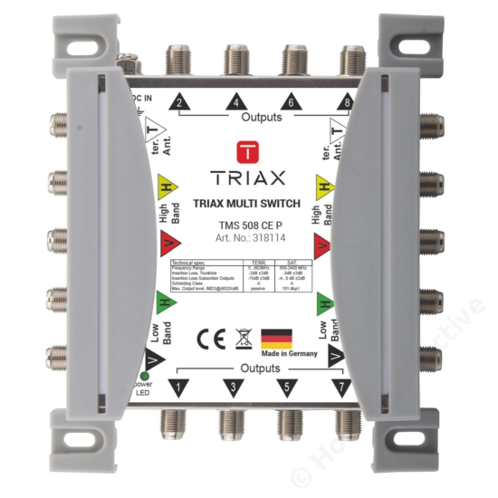 TMS 508 CE P Cascadable, Passive TER, For external PSU