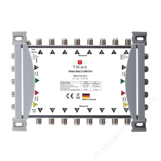 TMS 516 CE A Cascadable, Active TER, For external PSU