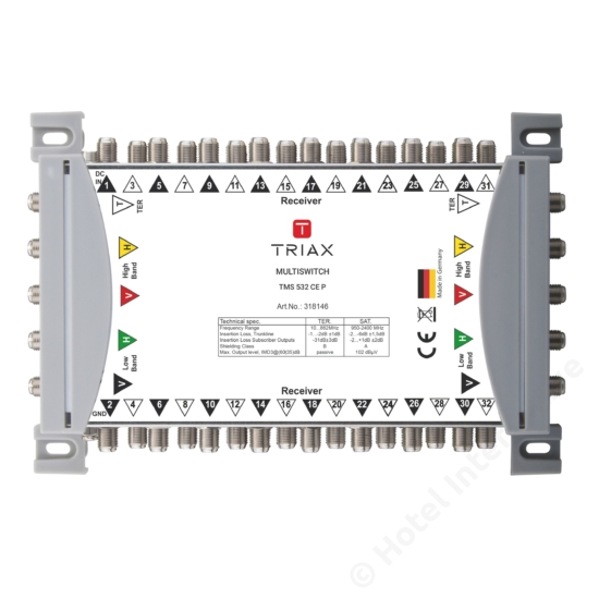 TMS 532 CE P Cascadable, Passive TER, For external PSU