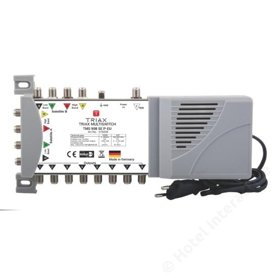 TMS 908 SE P-EU Stand-alone, Passive TER, EU Mains plug