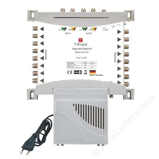 TMS 916 SE P-EU Stand-alone, Passive TER, EU Mains plug
