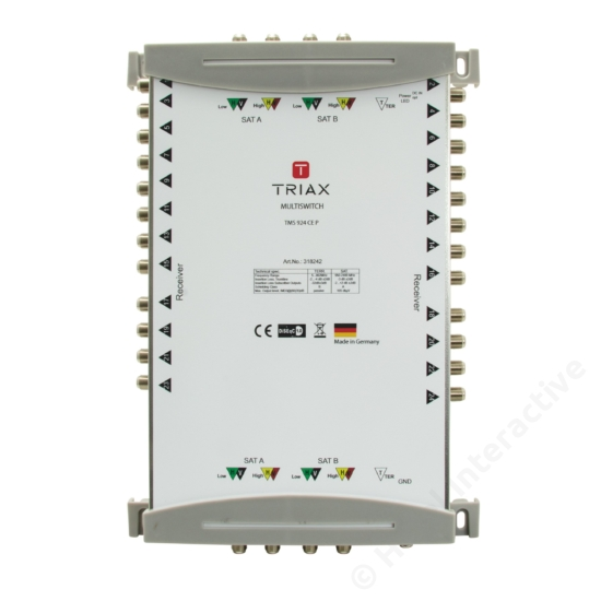 TMS 924 CE P Cascadable, Passive TER, For external PSU