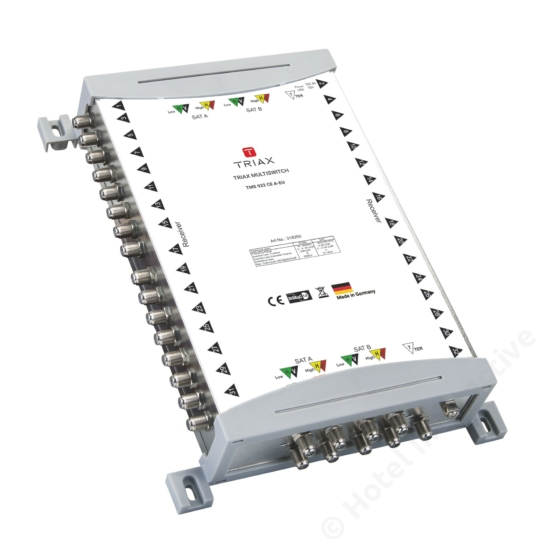 TMS 932 CE A Cascadable, Active TER, For external PSU