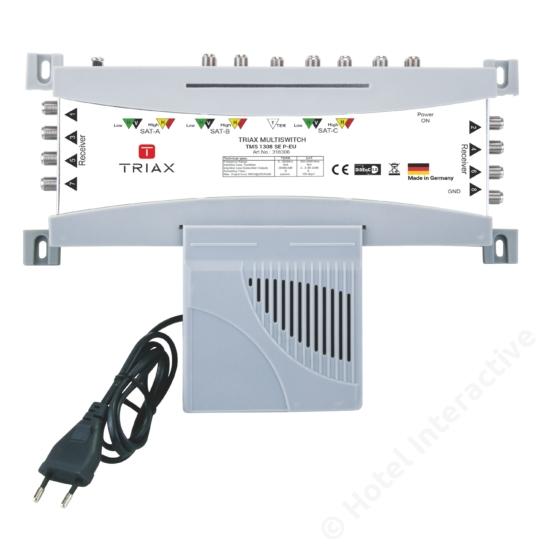 TMS 1308 SE P-EU Stand-alone, Passive TER, EU Mains plug