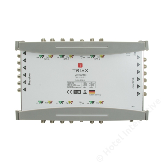 TMS 1312 CE P Cascadable, Passive TER, For external PSU