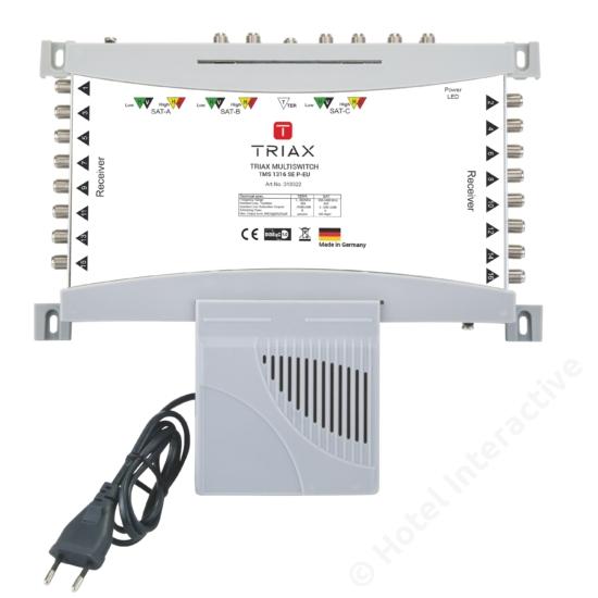 TMS 1316 SE P-EU Stand-alone, Passive TER, EU Mains plug