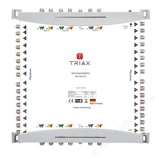 TMS 1332 CE A Cascadable, Active TER, For external PSU