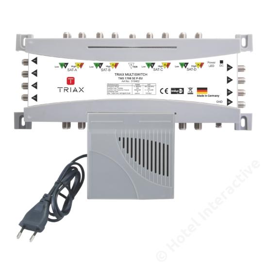 TMS 1708 SE P-EU Stand-alone, Passive TER, EU Mains plug