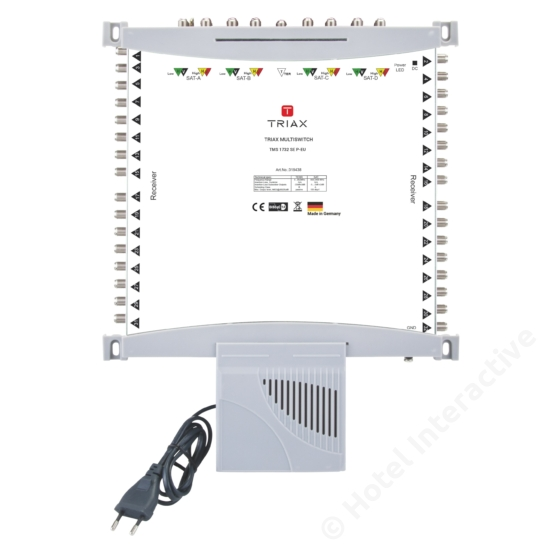 TMS 1732 SE P-EU Stand-alone, Passive TER, EU Mains plug