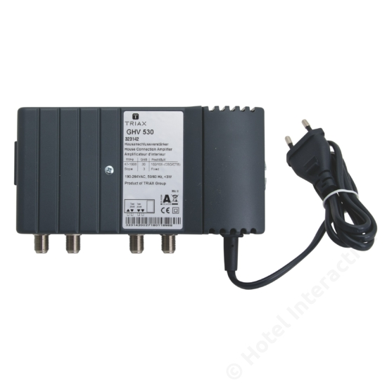GHV 530; 30 dB, adjustable attenuation, no reverse channel / szintszabályzó, nincs visszirány
