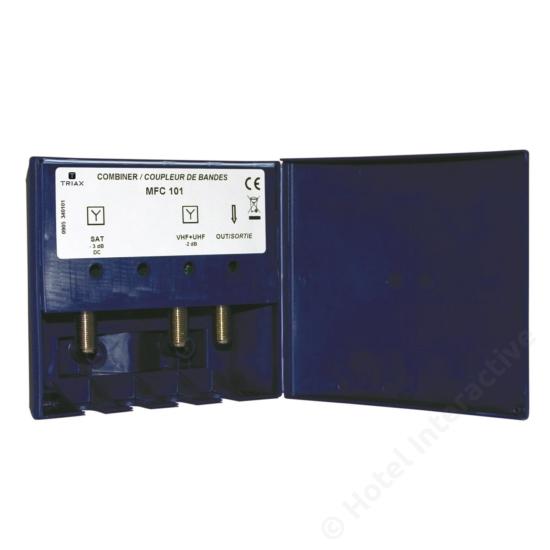 MFC 101 SAT/TV combiner