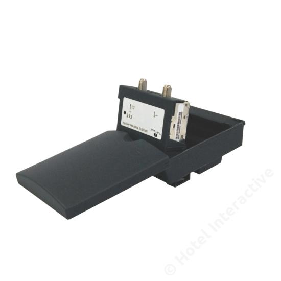 MFA 612 mast amplifier, 1 input, UHF 12 dB, NF 1,9dB