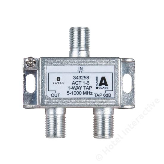 ACT 1-6; 1-way tap 6 dB