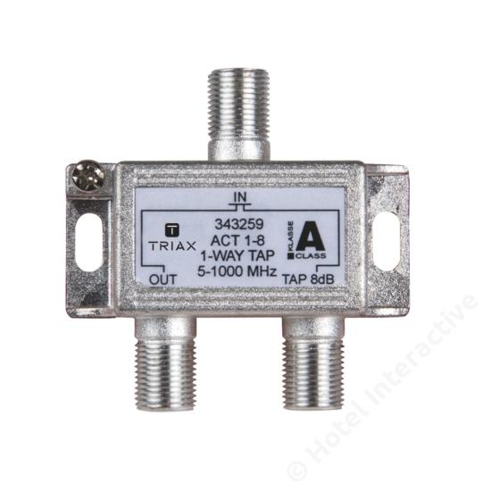 ACT 1-8; 1-way tap 8 dB