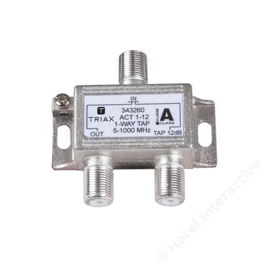 ACT 1-12; 1-way tap 12 dB