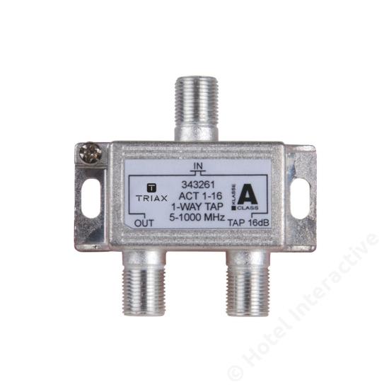 ACT 1-16; 1-way tap 16 dB