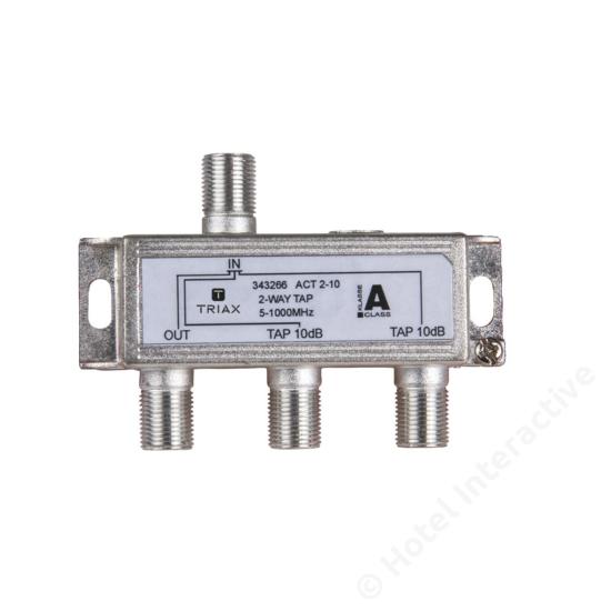 ACT 2-10; 2-way tap 10 dB