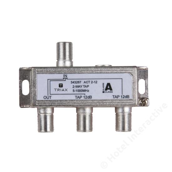 ACT 2-12; 2-way tap 12 dB