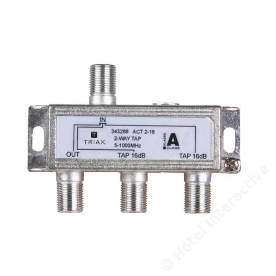 ACT 2-16; 2-way tap 16 dB
