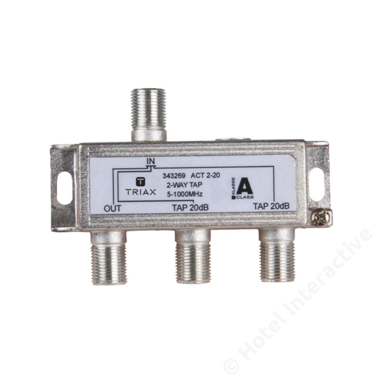 ACT 2-20; 2-way tap 20 dB