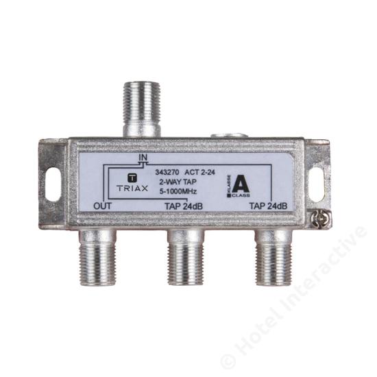 ACT 2-24; 2-way tap 24 dB