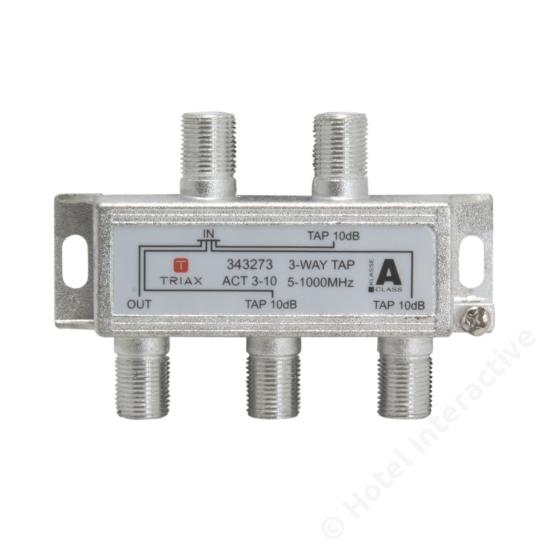 ACT 3-10; 3-way tap 10 dB