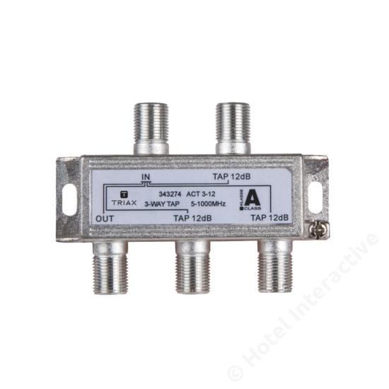 ACT 3-12; 3-way tap 12 dB