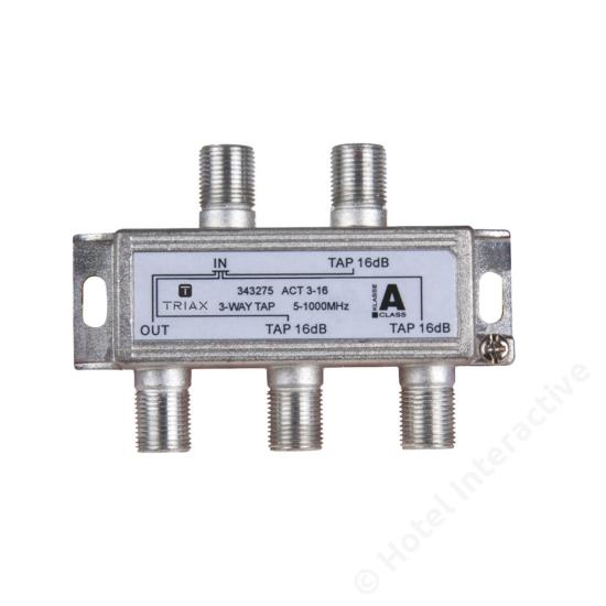 ACT 3-16; 3-way tap 16 dB