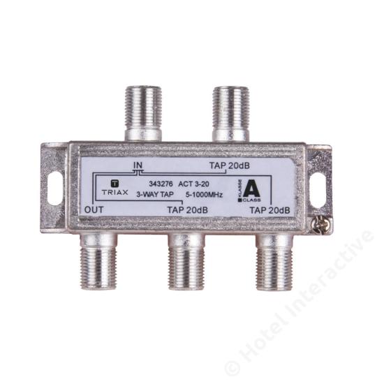 ACT 3-20; 3-way tap 20 dB