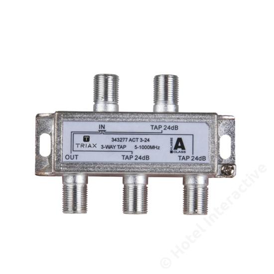 ACT 3-24; 3-way tap 24 dB