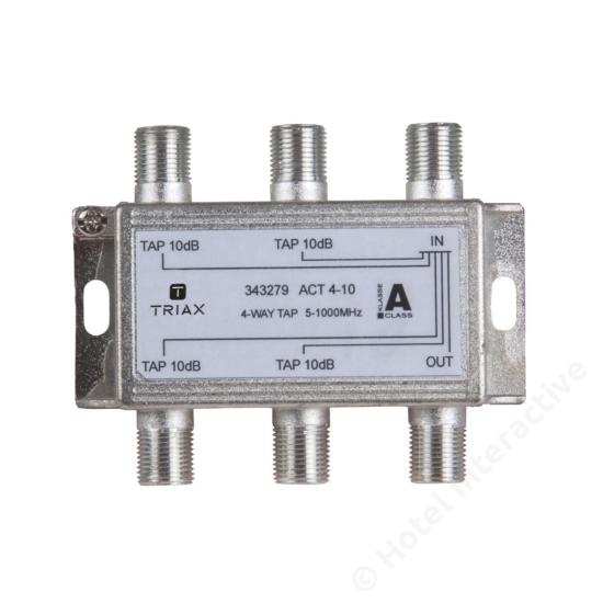 ACT 4-10; 4-way tap 10 dB