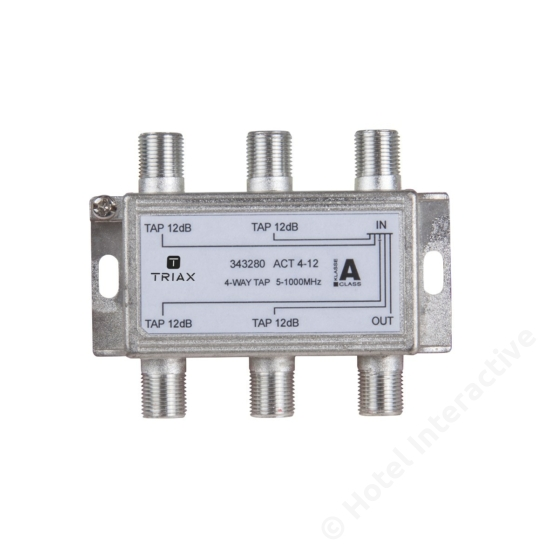 ACT 4-12; 4-way tap 12 dB