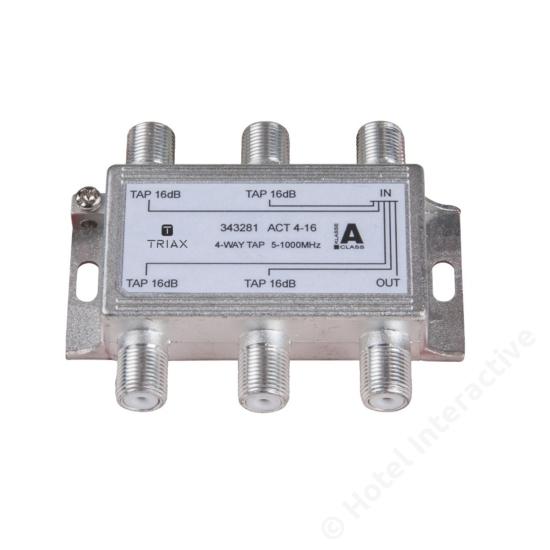 ACT 4-16; 4-way tap 16 dB