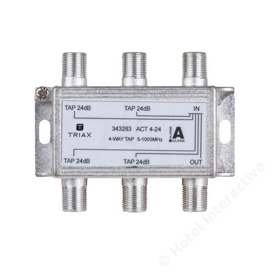ACT 4-24; 4-way tap 24 dB