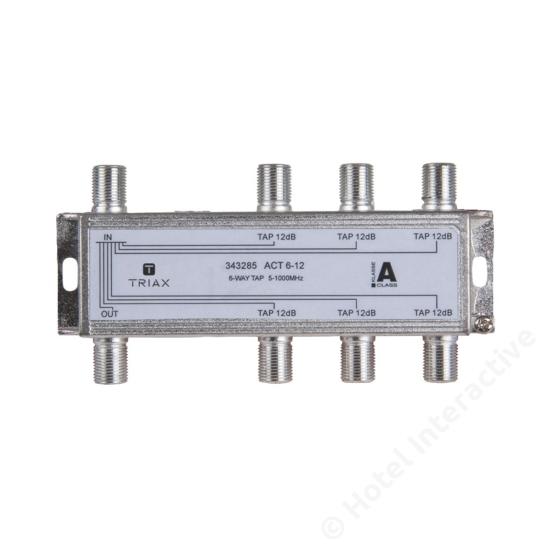 ACT 6-12; 6-way tap 12 dB