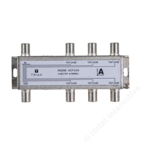 ACT 6-24; 6-way tap 24 dB