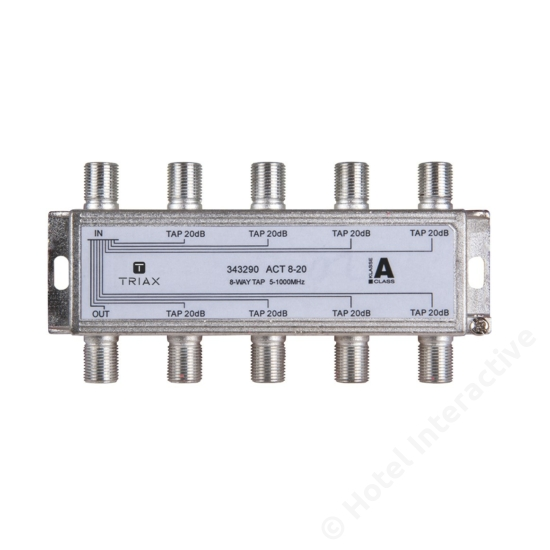 ACT 8-20; 8-way tap 20 dB