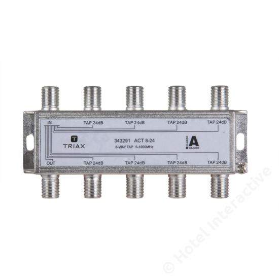 ACT 8-24; 8-way tap 24 dB